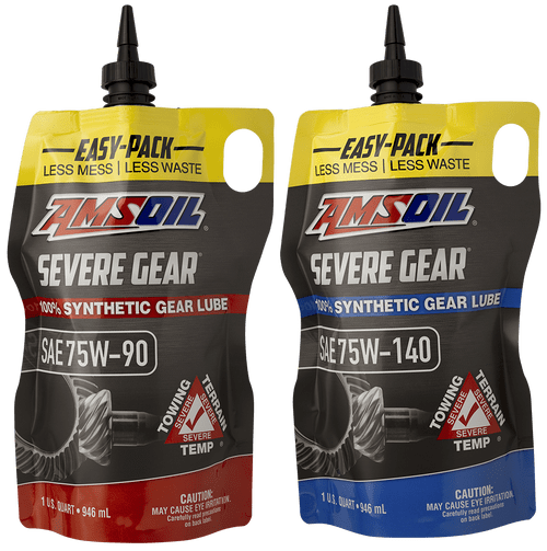 New AMSOIL Severe Gear® easy-pack