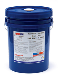 AMSOIL 80W-140 Long Life Synthetic Gear Lube