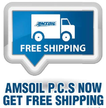 Get Free Shipping on AMSOIL Products