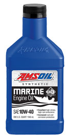 AMSOIL 10W-40 Synthetic Marine Engine Oil